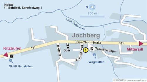 Lageplan Jochberg