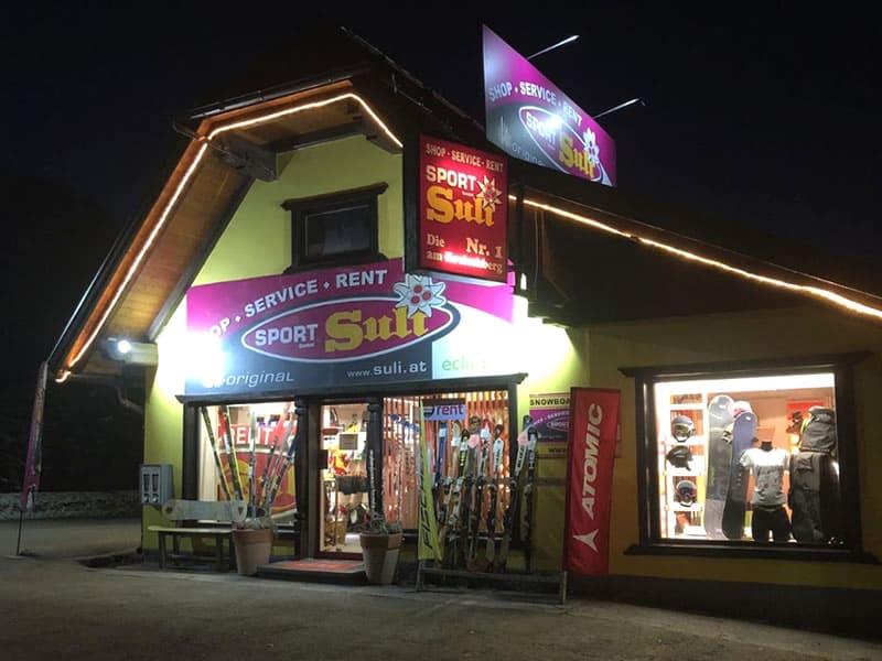 Verleihshop Sport Suli in St. Lorenzen 31, St. Georgen/Murau - Kreischberg