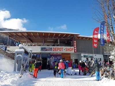 Verleihshop Hofherr Sport, Lermoos in Talstation Grubigsteinbahn - Juch 3