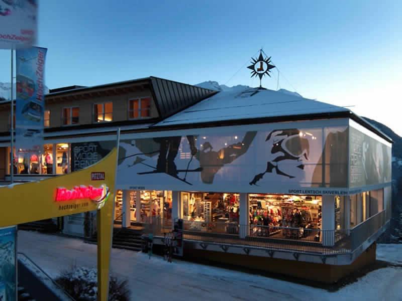 Verleihshop Sport Lentsch - Sport vor Ort, Talstation Hochzeigerbahn Jerzens in Wenns im Pitztal