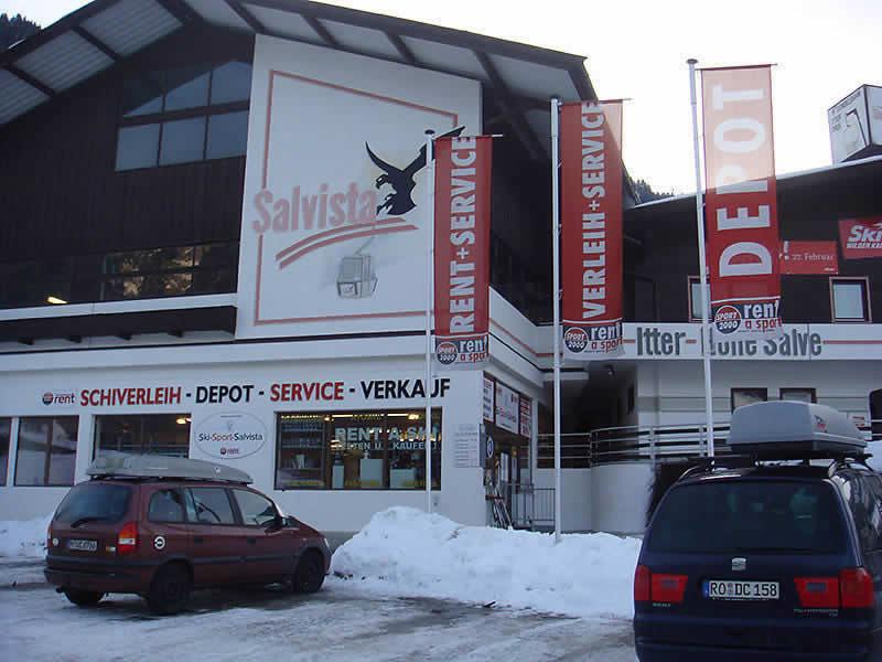 Verleihshop SPORT 2000 Ski Sport Salvista, Talstation Salvista Gondelbahn in Itter
