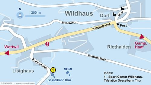 Lageplan Wildhaus
