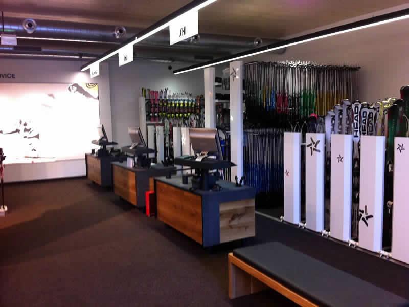Verleihshop Sport Harry's, Talstation Valisera Grasjochbahn in St. Gallenkirch