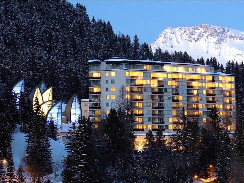 Verleihshop Gisler Sport, Tschuggen Grand Hotel in Arosa