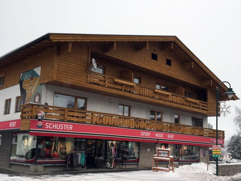 Verleihshop SPORT 2000 Schuster, Unterdorf 2 in Lermoos