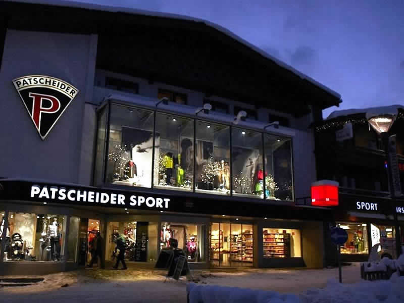 Verleihshop Sport Patscheider, Untere Dorfstrasse 27 in Serfaus