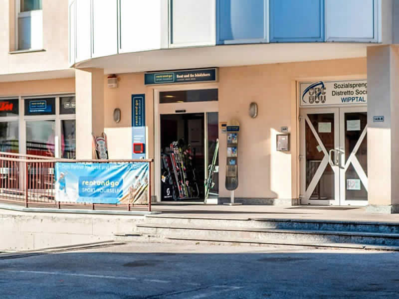 Verleihshop Rent and Go Rosskopf, Via Brennero 14/c in Sterzing