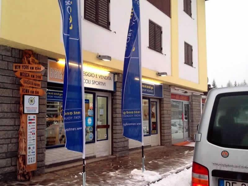 Verleihshop Noleggio del Brenta Campiglio Nord, Via Cima Tosa, 87 in Madonna di Campiglio