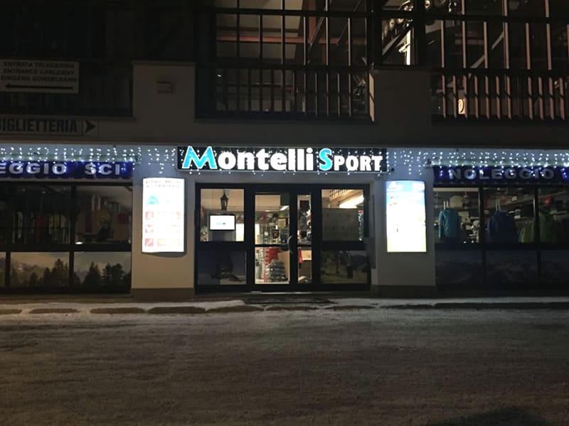 Verleihshop Montelli Sport, Via dei Cavai, 1 in Pejo