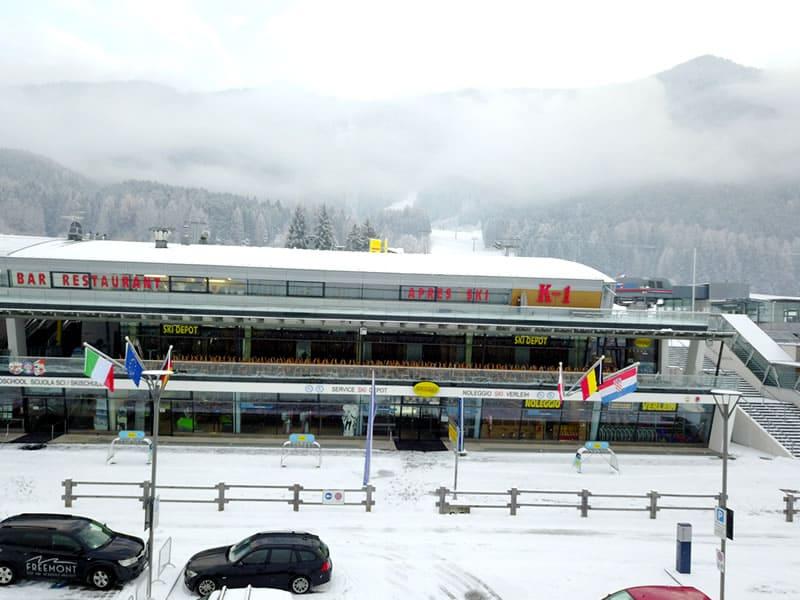 Verleihshop Rentasport Kronplatz, Bruneck/Reischach in Via Funivia/Seilbahnstrasse 12b