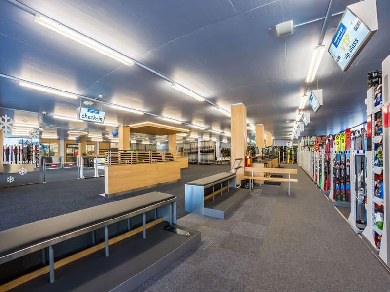 Verleihshop Rentasport Kronplatz, Via Funivia/Seilbahnstrasse 12b in Bruneck/Reischach