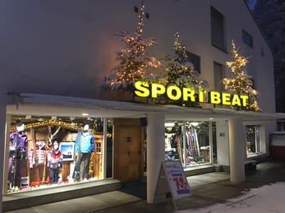 Verleihshop Sport Beat, Flims in Via Nova 49