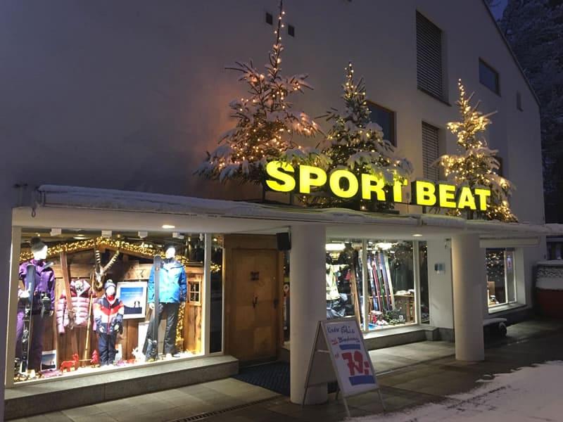 Verleihshop Sport Beat, Via Nova 49 in Flims