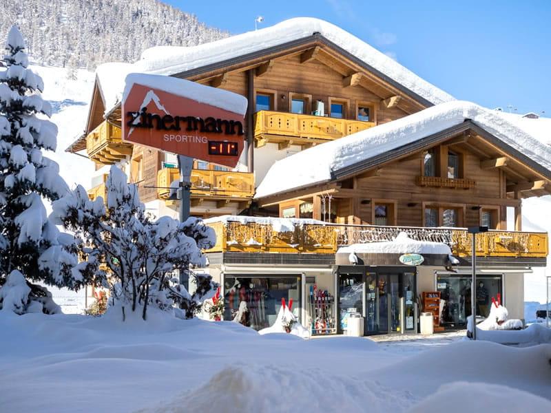 Verleihshop Zinermann Sporting, Via Plan, 21H in Livigno