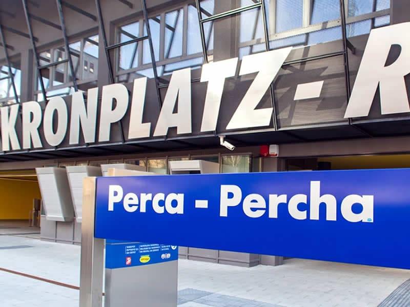 Verleihshop Rentasport Kronplatz Ried-Percha, Via Stazione 2 / Bahnhofstrasse 2 (Talstation Ried) in Percha