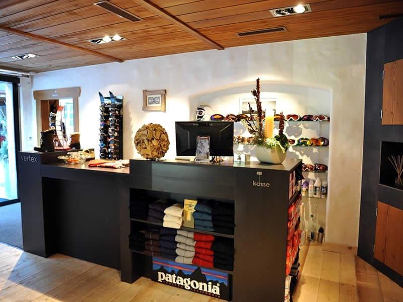 Verleihshop Vertex Sports, Viktoriastrasse 2 in Gstaad