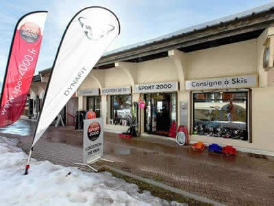 Ski hire shop FL SPORT, Les Deux Alpes 1800 in Village du Clos des Fonds, Place des Arcades - Les Deux Alpes 1800