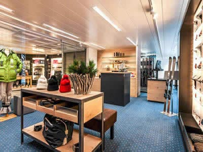 Verleihshop Carmenna Sport, Arosa in Waldhotel National