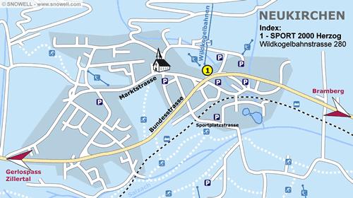 Lageplan Neukirchen