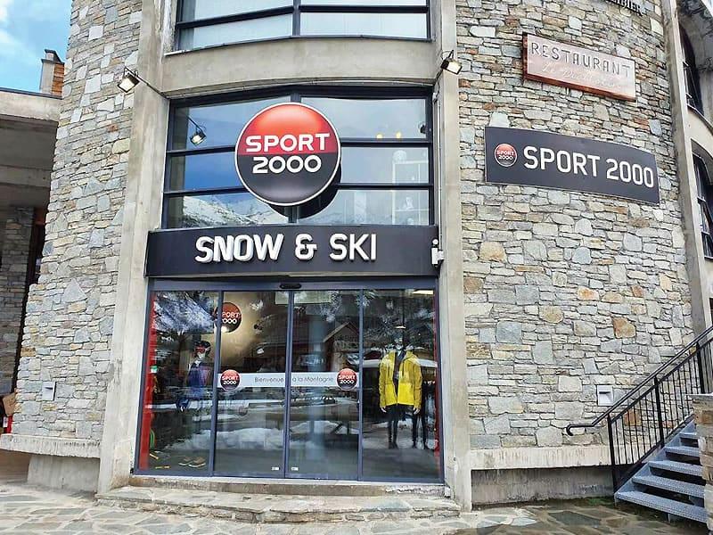Verleihshop SNOW & SKI, Zone des Charbonnières in Valloire
