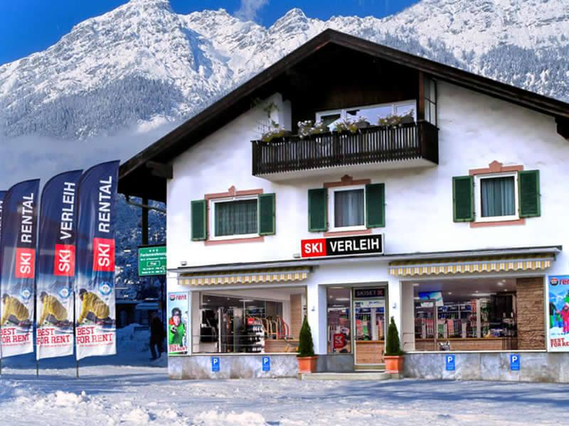 Verleihshop Skiverleih Garmisch, Zugspitzstraße 68 in Garmisch-Partenkirchen